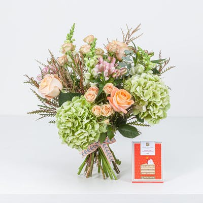 Coral Lime Birthday