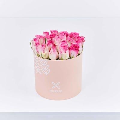 Pink Rose Cylinder